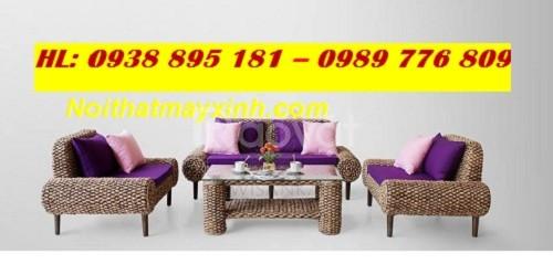 Bàn ghế lục bình, nội thất lục bình, sofa salon lục bình 0938895181 Vy