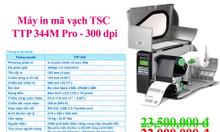 Máy in tem nhãn TSC 344M Pro