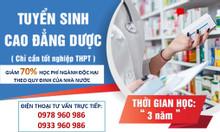 Cao đẳng Dược học ở đâu tốt TpHCM?