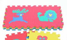 Thảm xốp ghép hình động vật 10 tấm Sunta