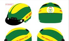 Mũ bảo hiểm tại Quảng Ngãi - Xưởng in logo mũ bảo hiểm giá rẻ