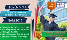 Học liên thông đại học ngành sư phạm tiểu học TpHCM