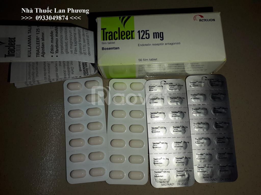 Thuốc Tracleer 125mg thuốc Bosentan giá bao nhiêu mua ở đâu