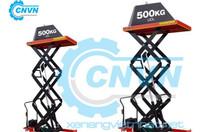 Bàn nâng thủy lực 500kg nâng cao 3m giảm giá, hiệu quả cho doanh nghiệp