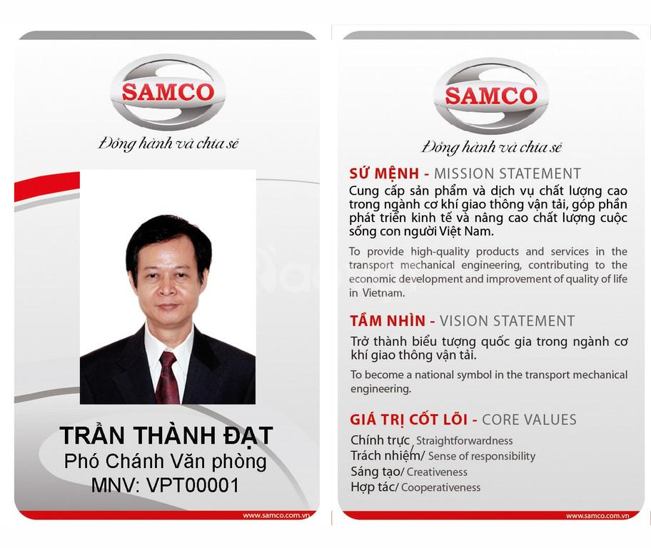 In thẻ mã hóa,thẻ mã vạch,thẻ sân gold, thẻ xe, LH 0916986840