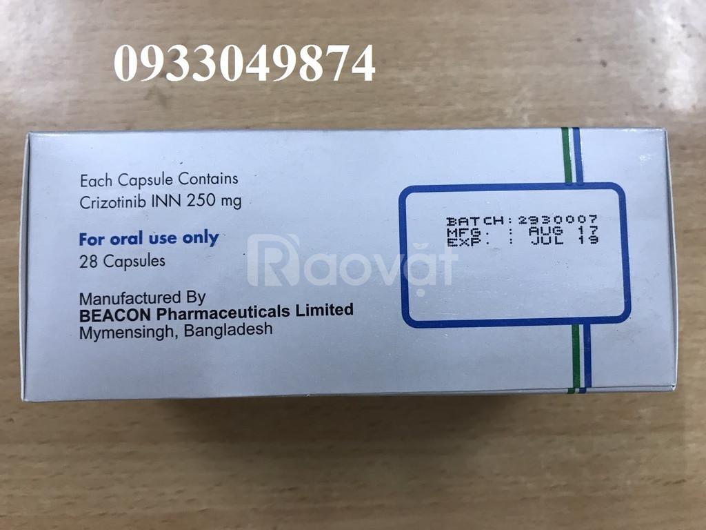 Giá thuốc Crizonix 250mg Crizotinib điều trị ung thư phổi