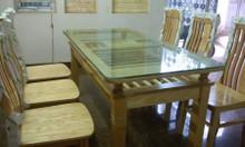 Bộ bàn ăn gỗ thịt