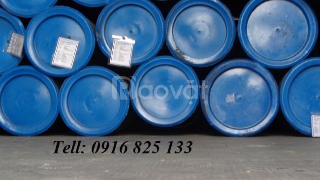 Thép ống hàn 141, DN125x4ly, 5ly, 6ly đen, kẽm