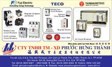 Phân phối thiết bị đóng ngắt từ nhãn hàng Fuji Electric và TECO