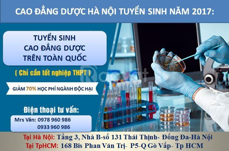 Cao đẳng Dược tốt TpHCM