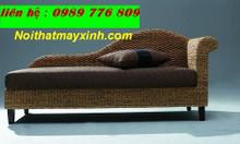 Bàn ghế sofa lục bình, ghế thư giản lục bình, nội thất lục bình