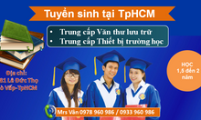 Hồ sơ học trung cấp văn thư lưu trữ TpHCM