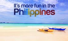 Vé máy bay đi Philippine giá khuyến mãi tại Việt Today