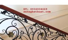 Cầu thang sắt nghệ thuật tại Hà Nội