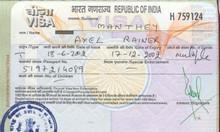 Dịch vụ làm visa đi Ấn độ, visa công tác, visa du lịch, visa điện tử