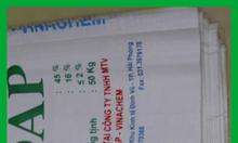 Bao pp dệt dứa, bao pp màu xanh, bao pp in flexo, bao pp in ống đồng