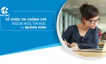 Tổ chức thi chứng chỉ ngoại ngữ, tin học & đào tạo nghiệp vụ hướng dẫn