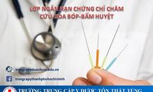 Trường nào tại TpHCM đào tạo chứng chỉ châm cứu bấm huyệt