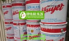 Đại lý bán sơn dầu Bạch Tuyết màu đỏ 344 giá rẻ TPHCM