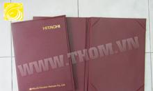Xưởng sản xuất bìa menu, bìa tính tiền, bìa simili, sổ tay giá rẻ