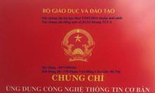 Chứng chỉ tin học chuẩn kỹ năng CNTT thi ở đâu Hà Nội?