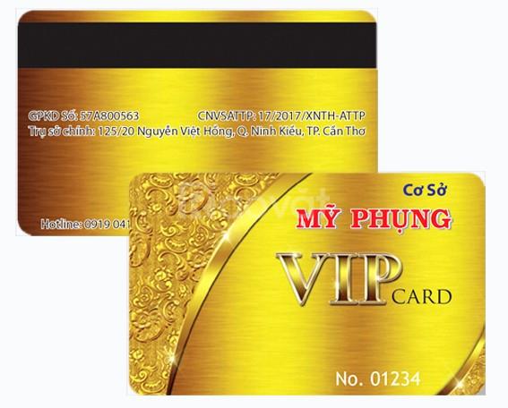In thẻ chấm công, thẻ vip, thẻ nhựa, thẻ mã hóa, thẻ từ