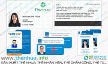 In card trong suốt pvc nhựa đẹp, theo yêu cầu khách hàng