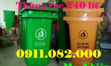 Chuyên bán thùng rác giá rẻ - thùng rác 120 lít, 240 lít giá sỉ