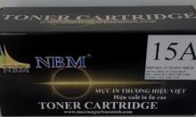 Hộp mực thương hiệu NBM 15A  thay thế cho Hộp mực HP 15A, HP C7115A