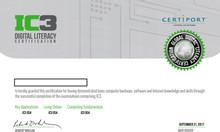 Chứng chỉ IC3 - Đầu vào công chức nhà nước, nâng lương nâng ngạch