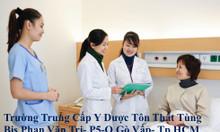 Trường nào đào tạo trung cấp dược chính quy tại TPHCM
