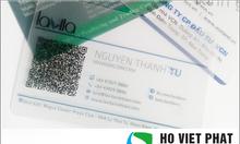 Name card nhựa PVC trong suốt đẳng cấp doanh nhân