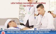 Liên thông cao đẳng Điều dưỡng 2017 chất lượng ở TpHCM