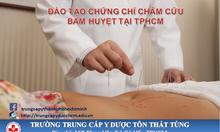 Khóa học Châm cứu bấm huyệt ngắn hạn tại TpHCM