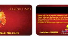 Cung cấp thẻ vip, thẻ khuyến mãi, thẻ mã vạch, thẻ câu lac bộ