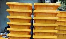 Thùng rác 120 lít màu vàng y tế đựng rác lây nhiễm
