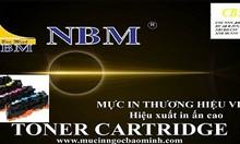 Hộp mực thương hiệu NBM-CB 542 màu vàng dùng cho máy in  HP