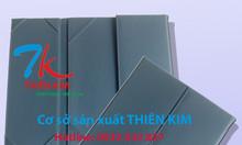 Xưởng sản xuất bìa thực đơn, bìa menu nhựa, nhận làm bìa kẹp tiền da