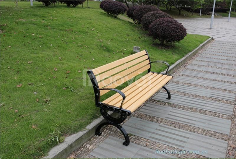Ghế công viên nan composite