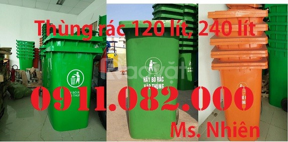 Giảm giá thùng rác 660 lít giá rẻ - thanh lý thùng rác 120 lít, 240 lít