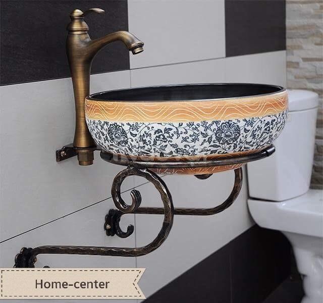 Chậu rửa (Lavabo) đá cuội, thiết bị nhà tắm, lavabo đá cuội
