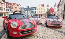 Xe ô tô điện mini cooper hl-1728 cho bé tại An Giang, tp. Long Xuyên