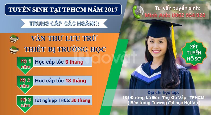 Học văn thư lưu trữ ở đâu tại TpHCM?