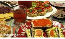 Cửa hàng bán đồ thực phẩm Nga xách tay ở Hà Nội