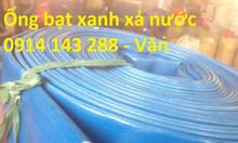Ống bạt cốt dù Phi 40, ống bạt nhựa D40, ống bạt nhựa màu xanh D40