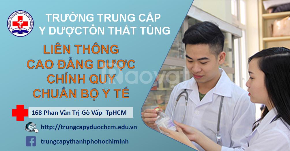 Cao đẳng dược TpHCM hệ liên thông