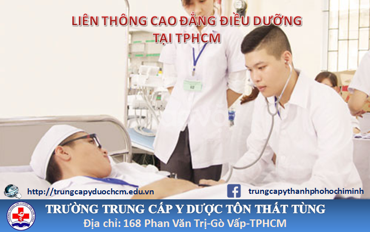 Cao đẳng Điều dưỡng TpHCM hệ liên thông