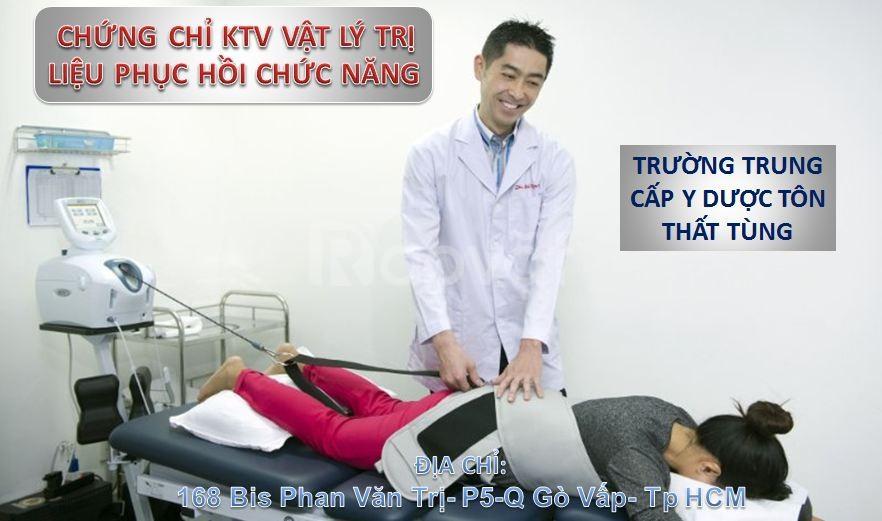 Chứng chỉ vật lý trị liệu - Phục hồi chức năng tại y dược Tôn Thất Tùng