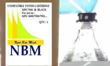 Mực túi NBM MPC 7500 màu đen (đã có Chip, có Từ)
