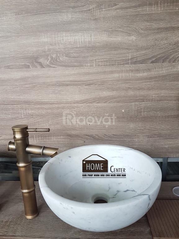 Chậu rửa - Lavabo đá cuội, đá tự nhiên, đá cẩm thạch Malaysia